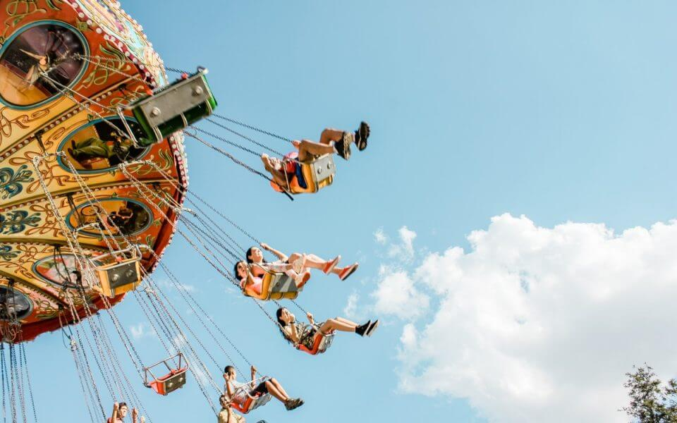 An image of a swing carousel ride